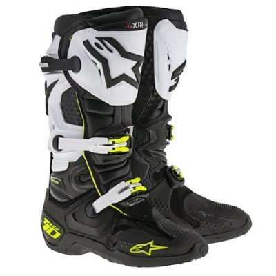 Alpinestar tech 10 black_yellow_white