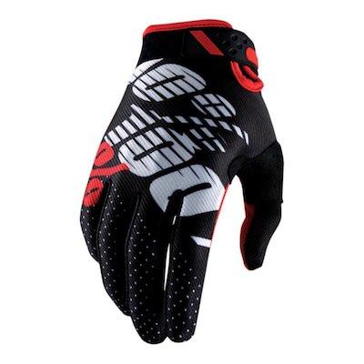 100 % Ridefit Black : Red
