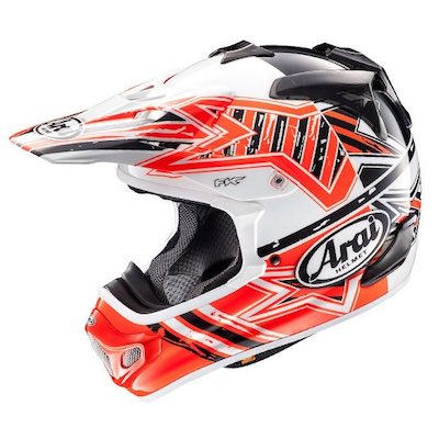 Arai MX-V, Star Orange