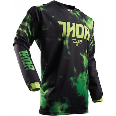 Thor Youth Pulse™ Tydy Lime : Black