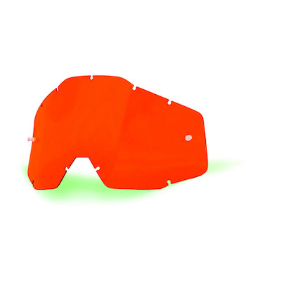100% replacement lens Racecraft_accuri_strata orange anti-fog