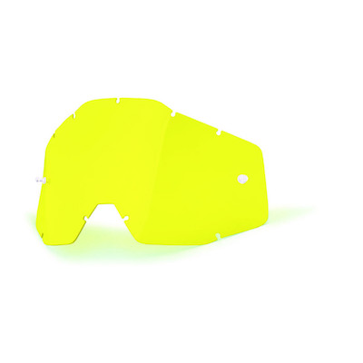 100% replacement lens Racecraft_accuri_strata yellow anti-fog