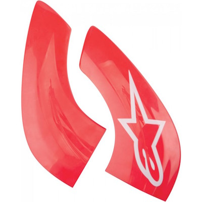 Alpinestar Chin Plate Carbon Red