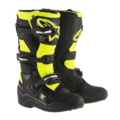 Alpinestar tech 7s youth black_yellow