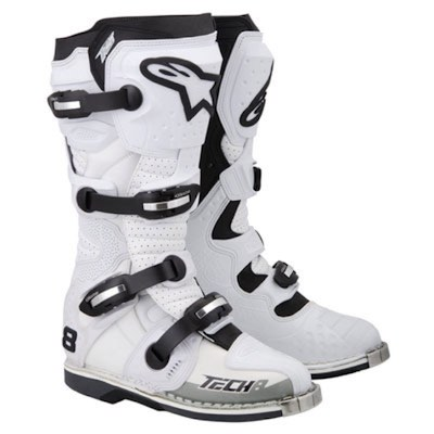 Alpinestar tech 8 RS white