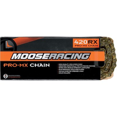 Moose Racing 420 Non O-ring ketting 130 schakels