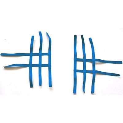 Nerbar net goldspeed blauw.