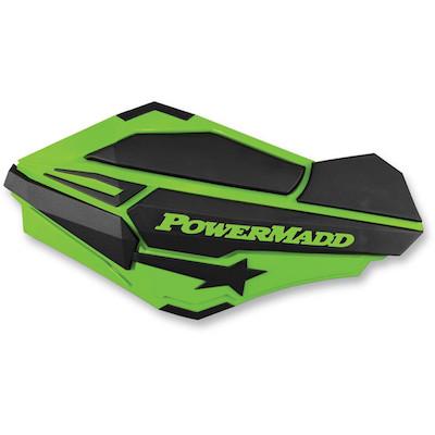 Powermadd Sentinel handkappen groen-zwart