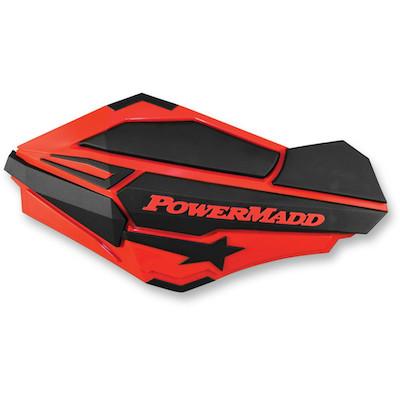 Powermadd Sentinel handkappen rood-zwart