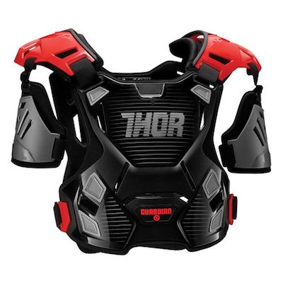 Thor Guardian Black : red