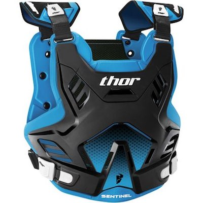 Thor Sentinel GP S16 Black : Blue Youth (8-12 years)