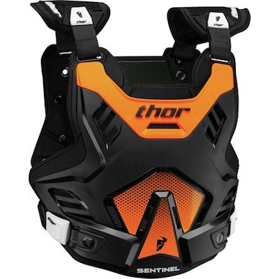 Thor Sentinel GP S16 Black : Orange Youth (8-12 years)