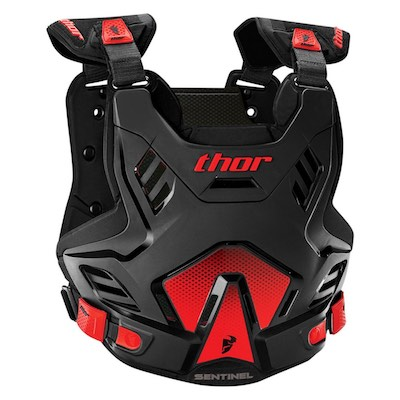 Thor Sentinel GP S16 Black : Red