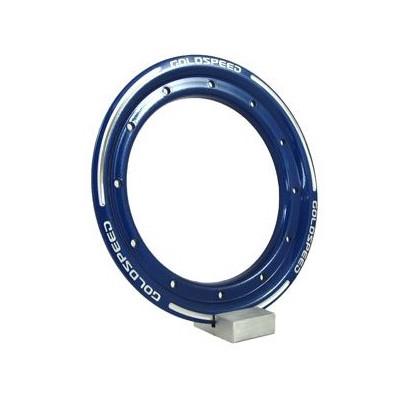 Goldspeed aluminium Beadlock ring blauw