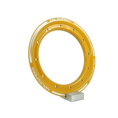 Goldspeed aluminium Beadlock ring geel