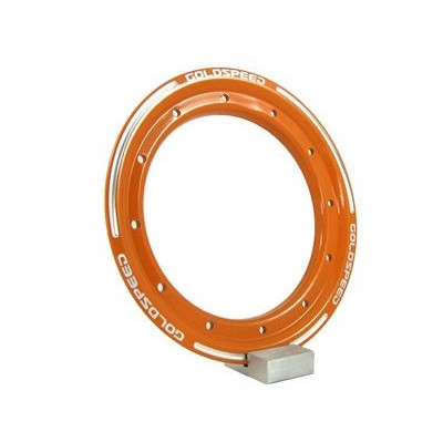 Goldspeed aluminium Beadlock ring oranje