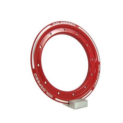 Goldspeed aluminium Beadlock ring rood