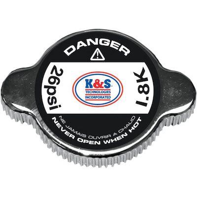 K&S 1.8 bar radiateur dop