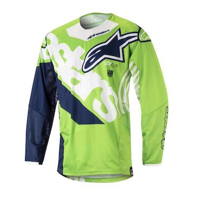 Alpinestar Techstar Venom fluo green : white : dark blue
