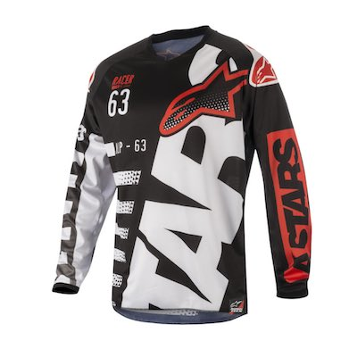 Alpinestar Racer Braap Red : Black : White