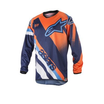Alpinestar Racer Supermatic dark blue : fluo orange : aqua