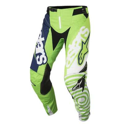 Alpinestars Techstar Fenom white : fluo green : dark blue