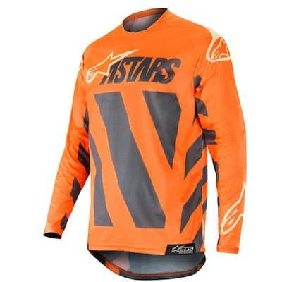 Alpinestar Racer Braap anthracite : orange : sand