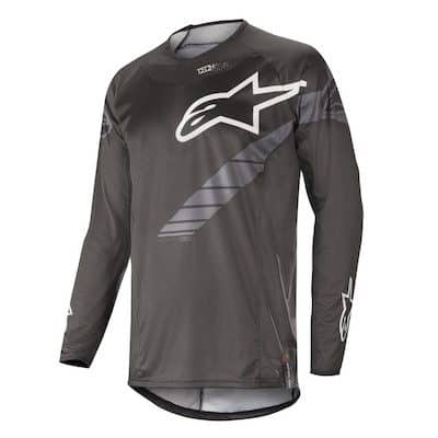 Alpinestar Techstar graphite s9 jersey black : anthracite