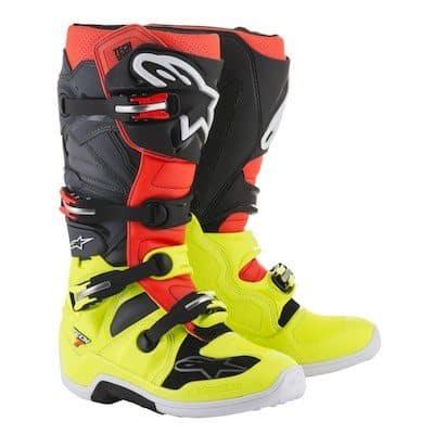 alpinestars yellow : red : gray : black