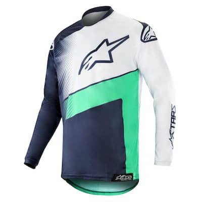 Alpinestar Racer Supermatic navy : teal : white