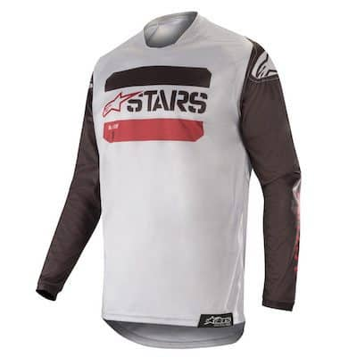 Alpinestars racer tactical black : gray : burgundy
