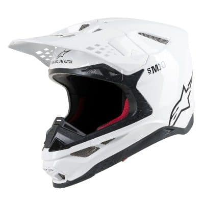 Alpinestars Supertech SM10 Solid White