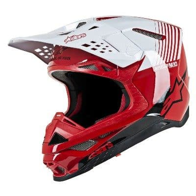 Alpinestars Supertech SM10 black, gloss, red, white