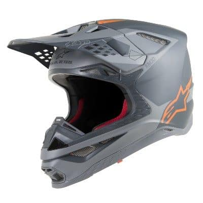 Alpinestars Supertech SM10 gray, matte, orange