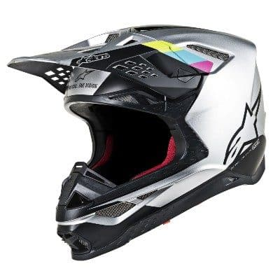 Alpinestars Supertech MS8 white, gloss, black