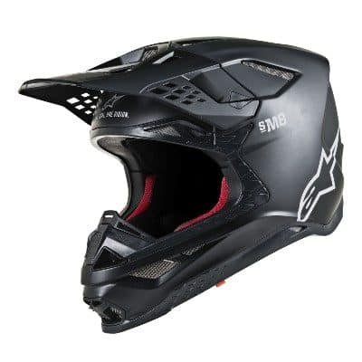 Alpinestars Supertech SM8 black. matte, white