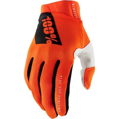 100% ridefit orange